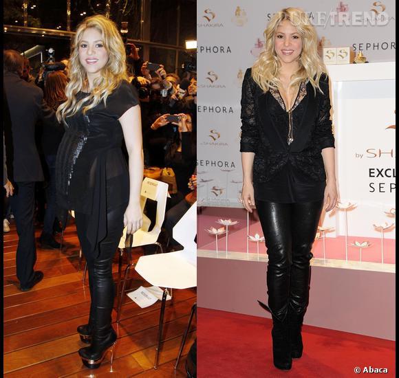 Shakira s'est plainte de sa peau de Shar Pei après son accouchement. Elle a quand même une ligne d'enfer !
