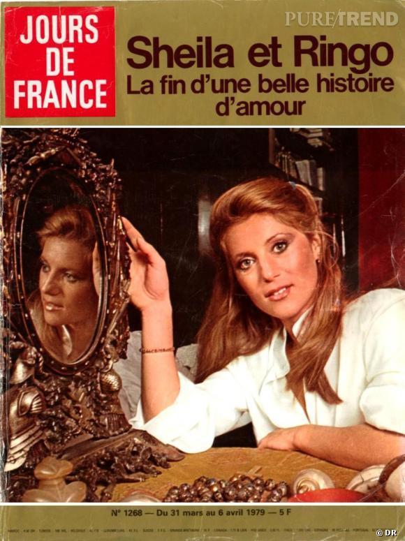 Jours de France  daté de mars-avril 1979 avec en Une Sheila.