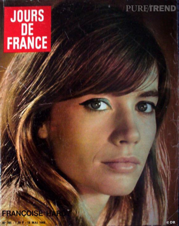 Jours de France  daté de mai 1968 avec en Une Françoise Hardy.