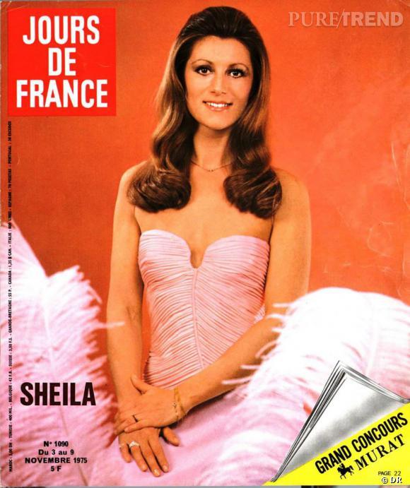 Jours de France  daté de novembre 1975 avec en Une Sheila.