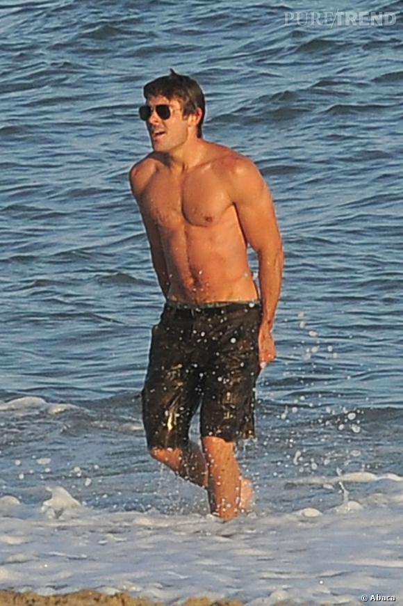 Zac Efron, l'homme à muscles numéro 2.
