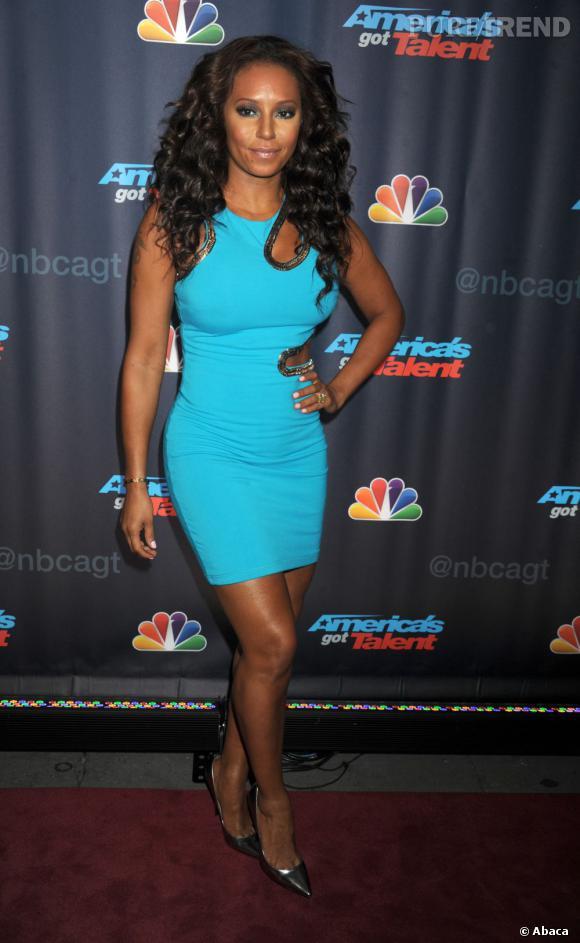 Melanie Brown sur la tapis rouge pour Americas Got Talent à New York : une Spice Girl défraichie !