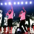 "Jay-Z et Justin Timberlake dédicent la chanson ""Forever Young"" à Trayvon Martin lors du concert au Yankee Stadium."