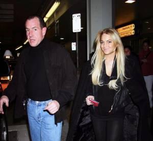 Lindsay Lohan : elle fait le vide mais garde son pere pres d'elle