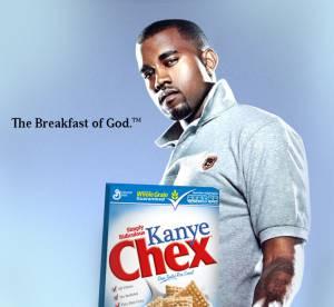 Kanye West et Nicki Minaj, mis en boite (de cereales)