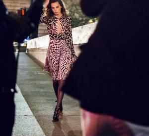 """Dans les coulisses de la vidéo de la campagne """"Glam Rock"""" de Diane von Furstenberg pour l'Automne-Hiver 2013/2014 avec Daria Werbowy."""