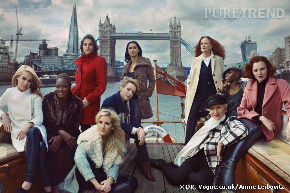 Campagne de l'Automne-Hiver 2013/2014 de Marks & Spencer.