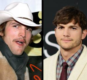 Ashton Kutcher : l'evolution capillaire (chaotique) de la star de Jobs