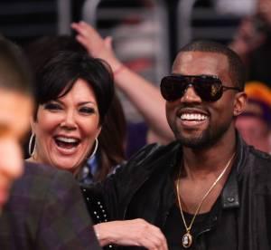 Kanye West : declaration d'amour a Kim Kardashian sur le plateau de Kris Jenner