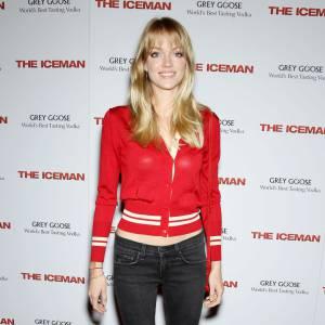 Même en jean, Lindsay Ellingson dévoile des jambes ultra-fines.