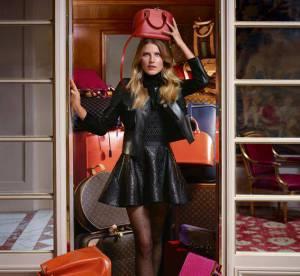 Dree Hemingway, du cuir et du fun pour la collection de chaussures Automne 2013 Louis Vuitton