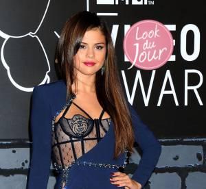 Selena Gomez : lingerie et sex-appeal au top pour seduire les MTV VMAs 2013