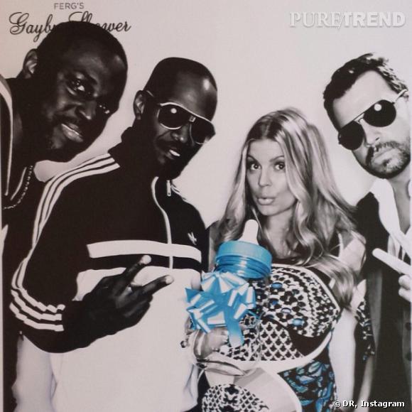 En vraie star, Fergie s'est offert 3 babyshowers.