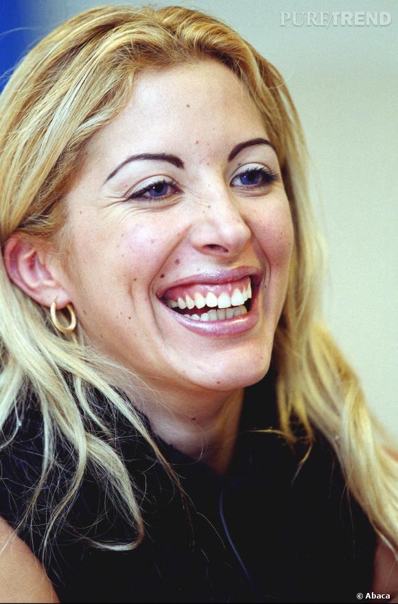 Loana, heureuse en 2002.