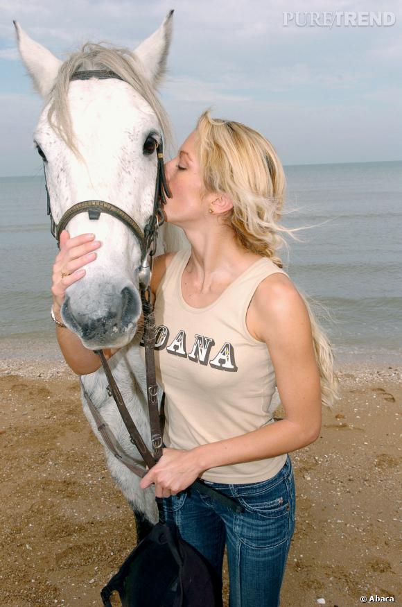 Loana et sa grande passion : l'équitation.