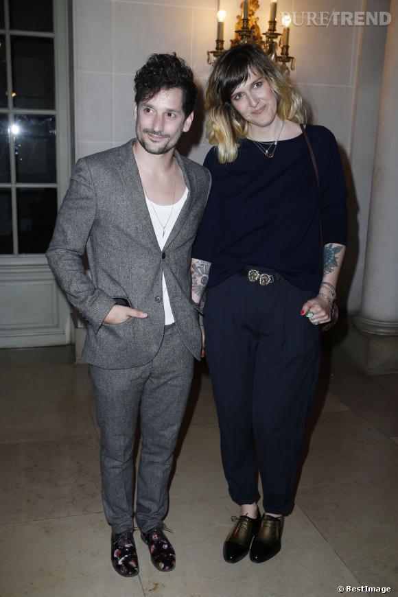Daphné Bürki et Gunther Love à la soirée de lancement du magazine pour hommes LUI le 3 septembre 2013.