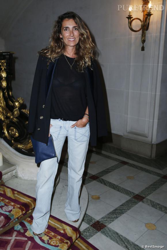 Mademoiselle Agnès, toujours aussi lookée.