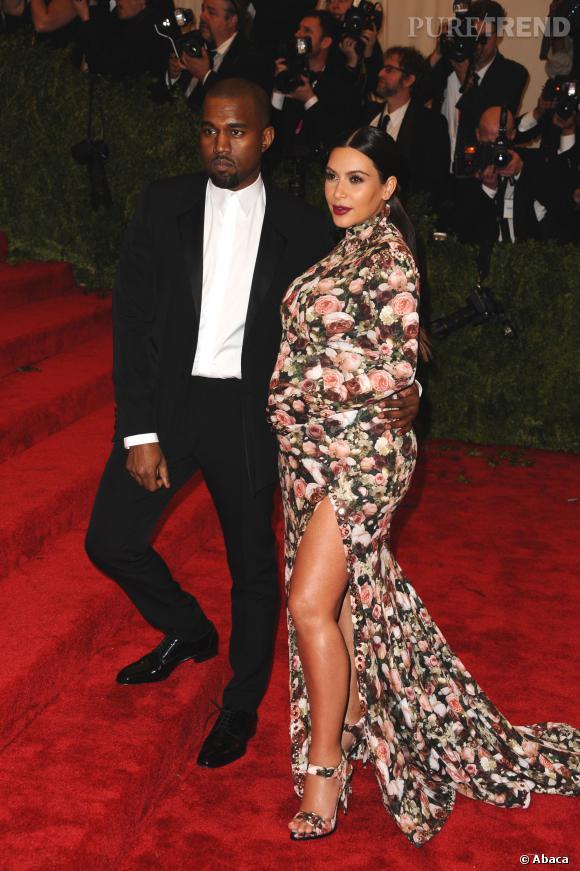 La robe fleurie de Kim Kardashian au MET Ball 2013, un flop mémorable.