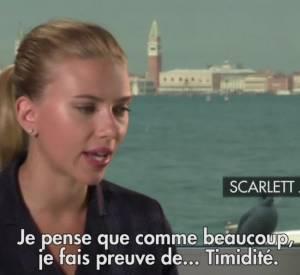 """Scarlett Johansson revient sur la nudité dans le film """"Under The Skin""""."""