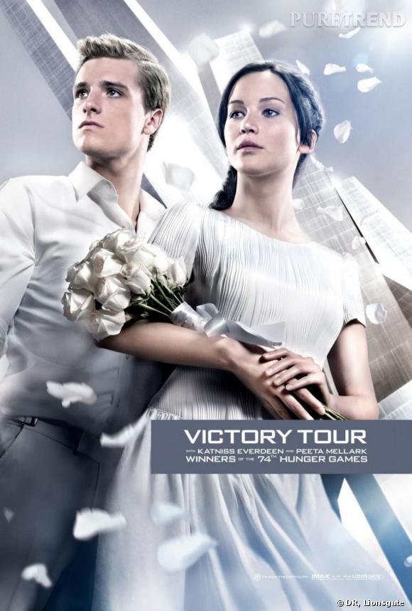 """Ce deuxième opus de """"Hunger Games 2"""" verra Katniss et Peeta se livrer à la Tournée de la Victoire."""