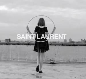 """Dance"" part 1 d'Hedi Slimane pour Saint Laurent."