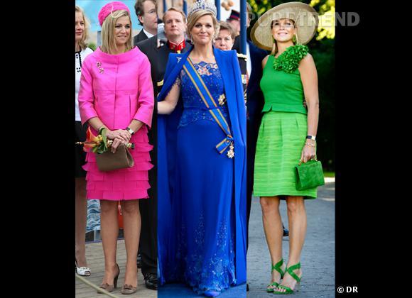 La Reine Maxima des Pays-Bas, reine des looks crayola.