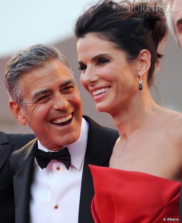 Sandra Bullock délaissée par son fils qui préfère George Clooney...