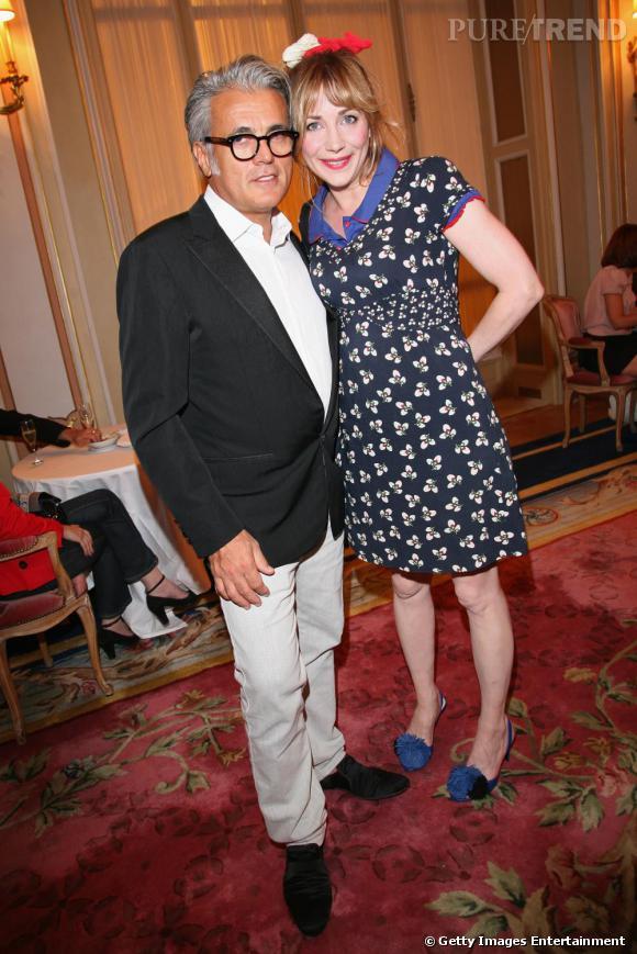 Julie Depardieu (ici au côté de Giuseppe Zanotti) voulait rendre hommage à son frère Guillaume.