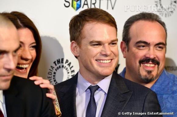 """L'équipe de """"Dexter"""" célèbre la fin de la série."""
