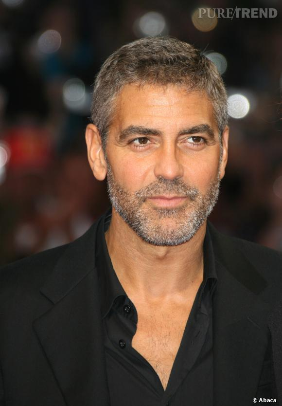 do porter une barbe poivre et sel et rester sexy comme george clooney. Black Bedroom Furniture Sets. Home Design Ideas