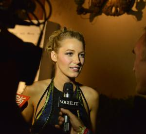 "Cate Blanchett, Blake Lively et David Gandy à l'exposition ""Beauty in Wonderland""."