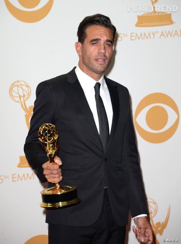Bobby Cannavale gagne le prix du meilleur second rôle masculin dans une série dramatique aux Emmy Awards 2013.