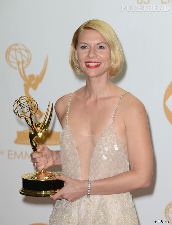 La belle a remporté le trophée de la meilleure actrice dans une série dramatique pour la seconde fois consécutive.