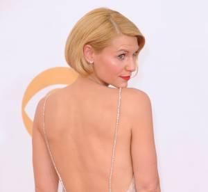 """Claire Danes aux Emmy Awards 2013 : son """"faux bob"""", sujet de moquerie !"""
