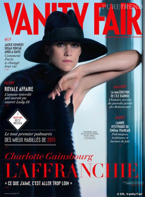 Charlotte Gainsbourg pose pour le magazine Vanity Fair.