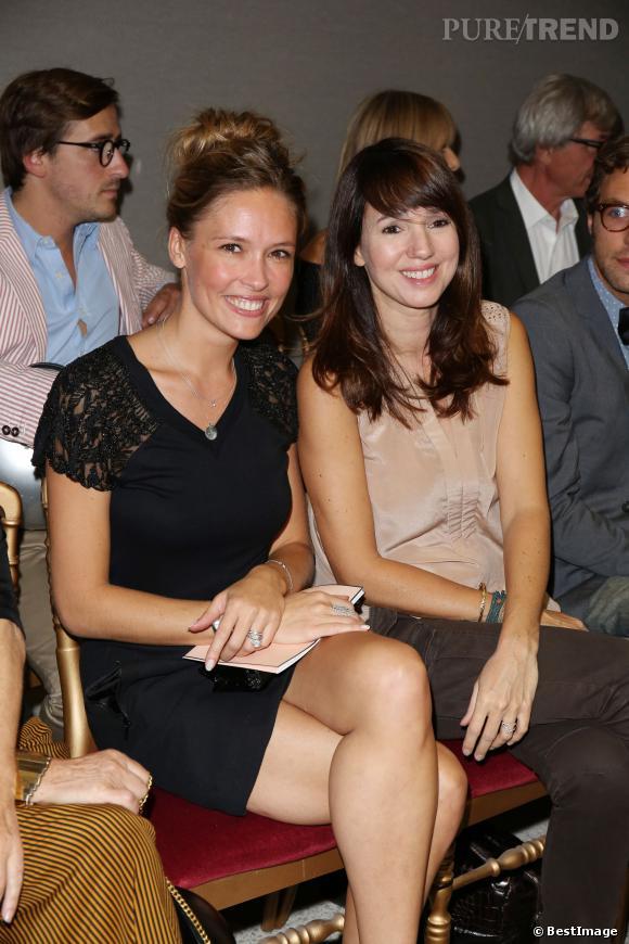 Lilou Fogli et Delphine McCarty au défilé Printemps-Été 2014 Alexis Mabille.