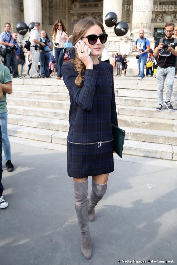 Olivia Palermo au défilé Printemps-Été 2014 Carven.