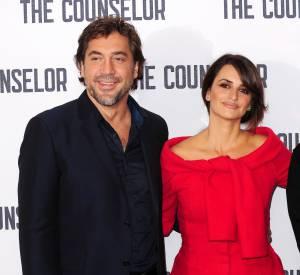 """Penelope Cruz et Javier Bardem au photocall de """"The Counselor"""" à Londres."""