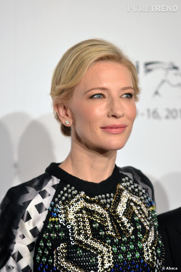 Les secrets de beauté de Cate Blanchett ? Elle les doit en grande partie à sa maman.