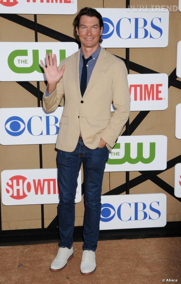 Jerry O'Connell lors de la soirée de présentation CBS.