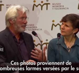Richard Gere inaugure son exposition sur le Tibet a Mexico