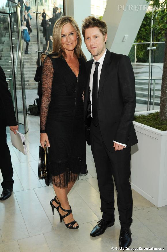 Angela Ahrendts et Christopher Bailey.