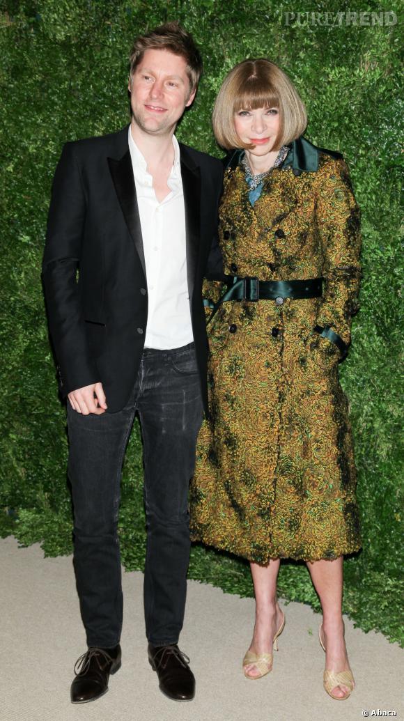 Christopher Bailey et Anna Wintour au CFDA/Vogue Fashion Fund Awards de 2012.
