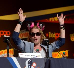 Macaulay Culkin, transforme et en bonne forme pour son come-back au Comic Con