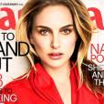 Natalie Portman, lumineuse en Une du Marie-Claire US.