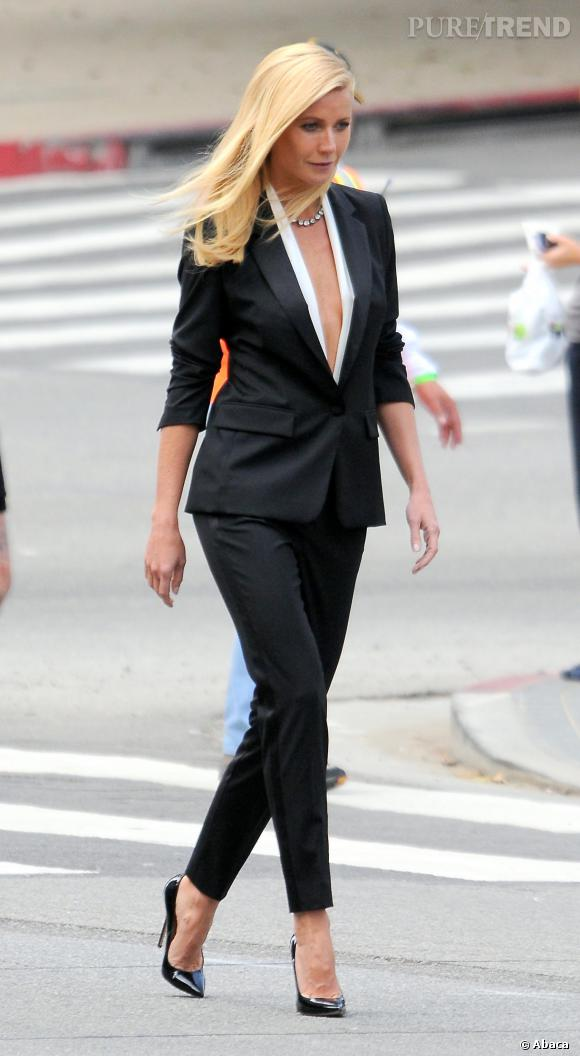 Gwyneth Paltrow enchaîne les projets en ce moment, comme la campagne Hugo Boss.