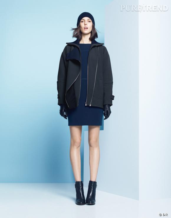 Les manteaux tendances de cet hiver 2013 : Lacoste