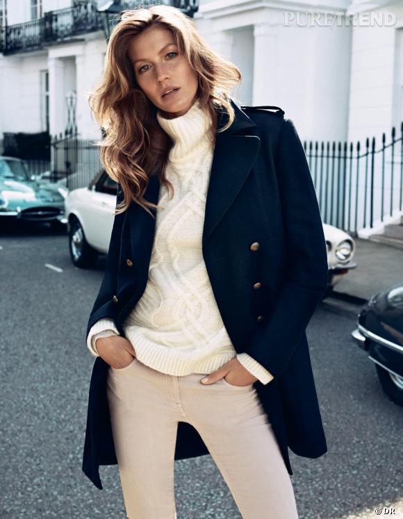 Les manteaux tendances de cet hiver 2013 : H&M