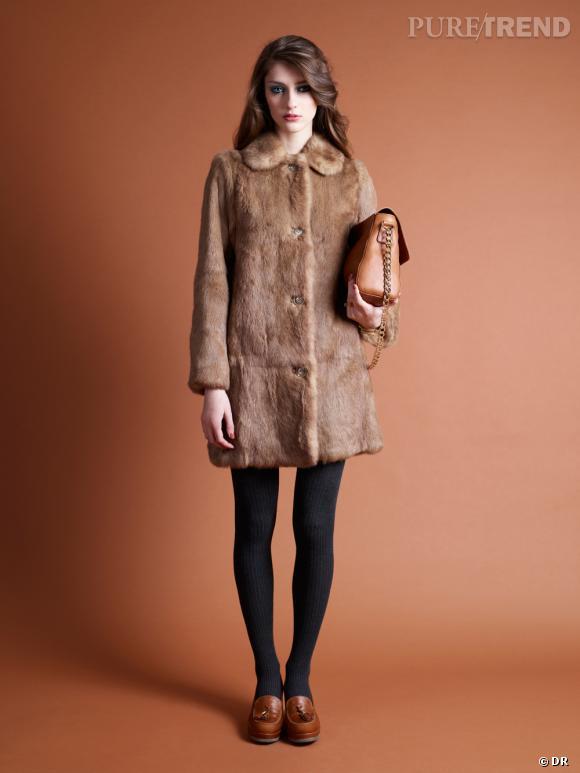 Les manteaux tendances de cet hiver 2013 : A.P.C