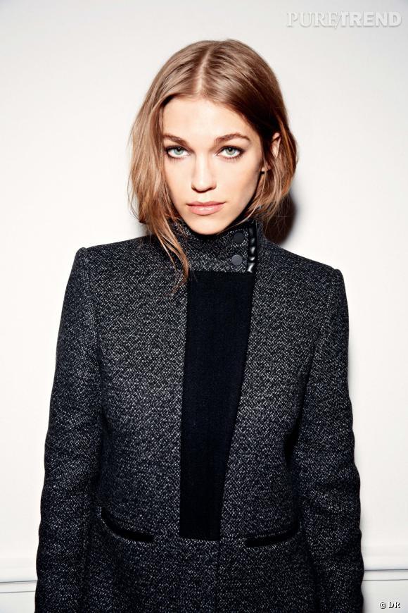 Les manteaux tendances de cet hiver 2013 : Comptoir des Cotonniers